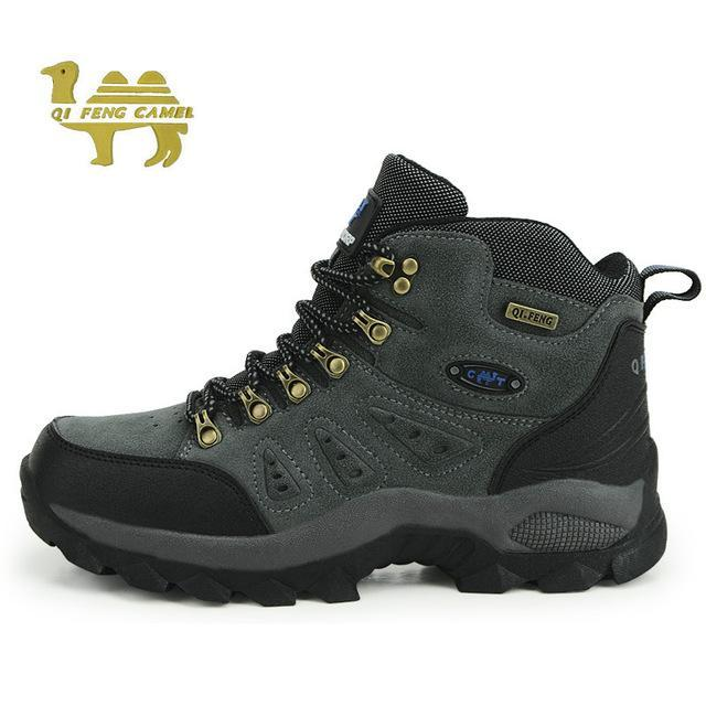 Trekking Shoes Men'S Hiking Shoes Anti-Skid Climbing Boots Athletic Breathable-Shoes-Bargain Bait Box-Grey-5-Bargain Bait Box