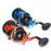 Trolling Reel Fishing Act20 - 40 Right Hand Casting Sea Fishing Reel Saltwater-Baitcasting Reels-Outdoor Sports & fishing gear-Black Orange-2000 Series-Bargain Bait Box
