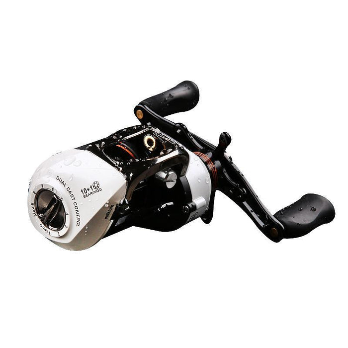 Trulinoya 11Bb Dual Cast Control Baitcasting Reel 6.3:1 Anti-Backlash-Baitcasting Reels-Goture Fishing Store-Left Hand-Bargain Bait Box