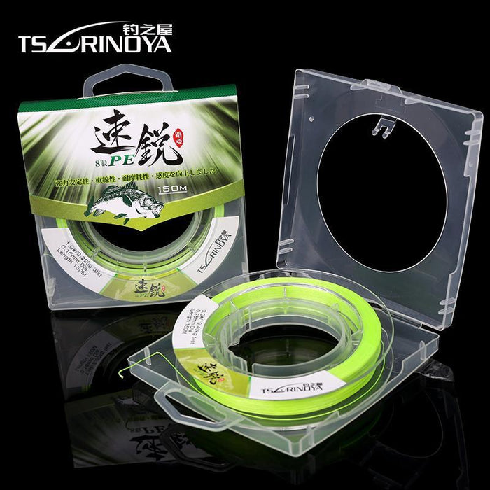 Tsurinoya 8 Strands 150M Braided Wire Pe Fishing Line Super Strong Smooth Line-MC&LURE Store-1.0-Bargain Bait Box