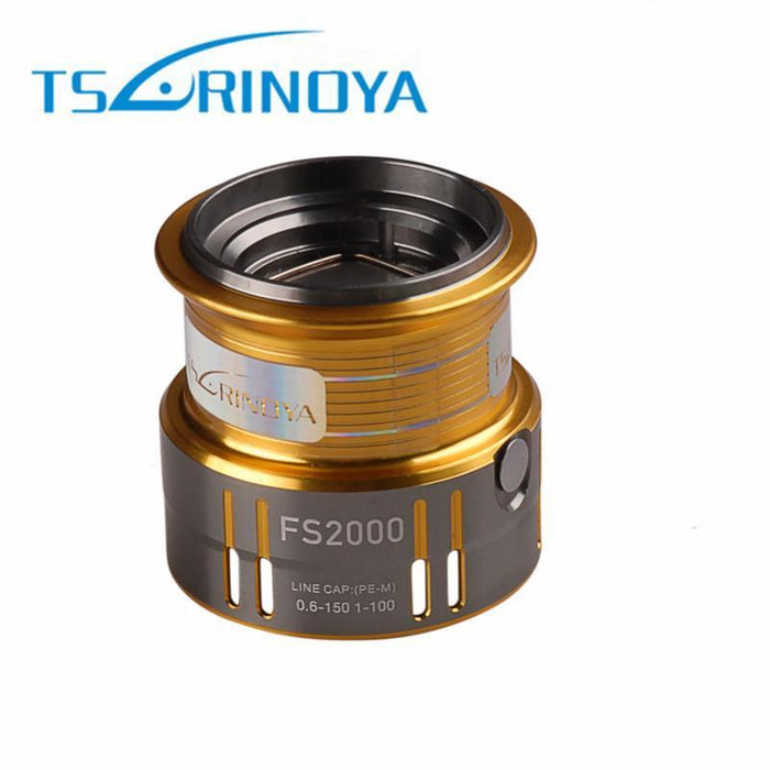Tsurinoya Aluminium Shallow Spool For Fs2000 Spinning Reel Spool Original-Fishing Reel Spools-KeZhi Fishing Tackle Store-Bargain Bait Box