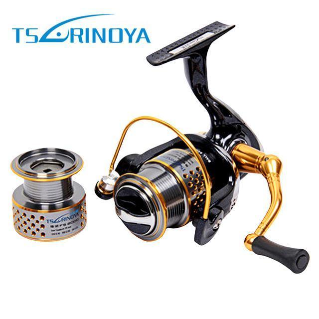 Tsurinoya Dw2000 Metal Fishing Reel 8 + 1 Ball Bearings 5:2:1 Spinning Fishing-Spinning Reels-Monka Outdoor Store-Bargain Bait Box