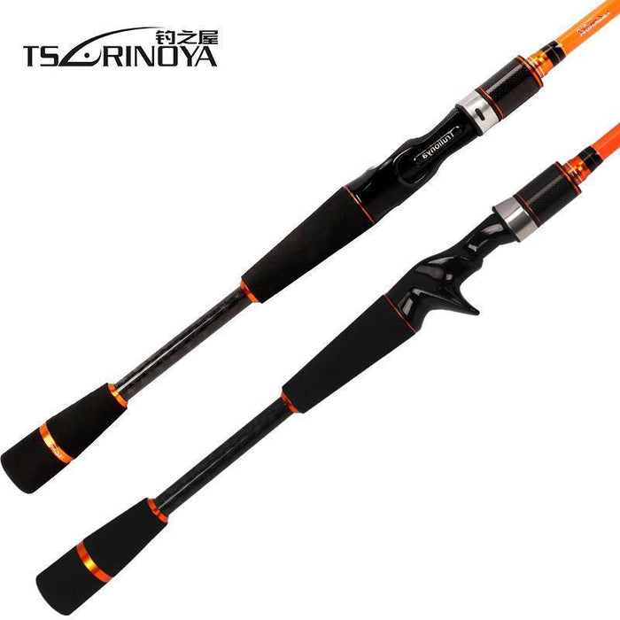 Tsurinoya Joy Together Iv M +Ml 2 Luminous Tips Casting Spinning Fishing Rod-Spinning Rods-Mavllos Fishing Tackle Store-White-Bargain Bait Box