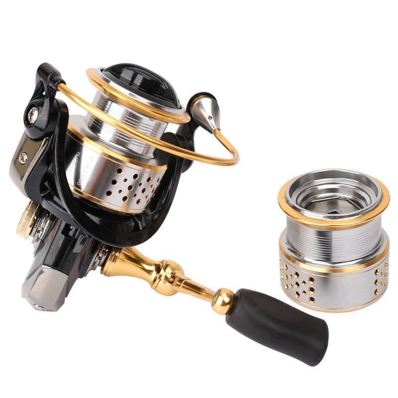 Tsurinoya Metal Fishing Reel Coil Sea Spinning Reels Deep And Shallow Spool 2000-Spinning Reels-Swolfy-Bargain Bait Box