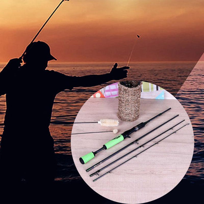 Ultra Light 1.98M Carbon Fiber Fishing Rods Spinning Fishing Pole Breathable-Spinning Rods-happyeasybuy01-Bargain Bait Box