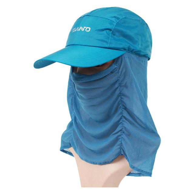 Unisex Sun Cap Sport Uv Protection Breathable Hat Fishing Cap M-29-Hats-Bargain Bait Box-Green-M-Bargain Bait Box