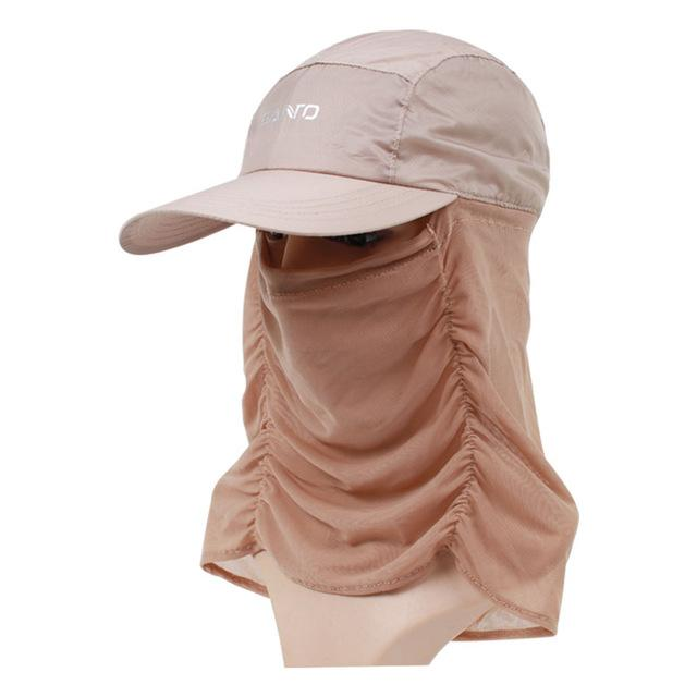 Unisex Sun Cap Sport Uv Protection Breathable Hat Fishing Cap M-29-Hats-Bargain Bait Box-Khaki-M-Bargain Bait Box