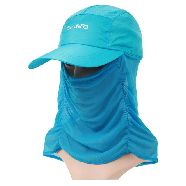 Unisex Sun Cap Sport Uv Protection Breathable Hat Fishing Cap M-29-Hats-Bargain Bait Box-Light blue-M-Bargain Bait Box