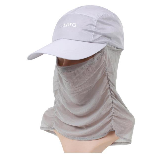 Unisex Sun Cap Sport Uv Protection Breathable Hat Fishing Cap M-29-Hats-Bargain Bait Box-Light gray-M-Bargain Bait Box