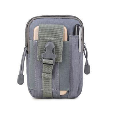 Universal Outdoor Sport Tactical Bag Molle Waist Nags 5.5/6 Inches Waterproof-YiWuLing Outdoor Tactical Store-grey-Bargain Bait Box