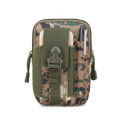 Universal Outdoor Sport Tactical Bag Molle Waist Nags 5.5/6 Inches Waterproof-YiWuLing Outdoor Tactical Store-Jungle Digital-Bargain Bait Box