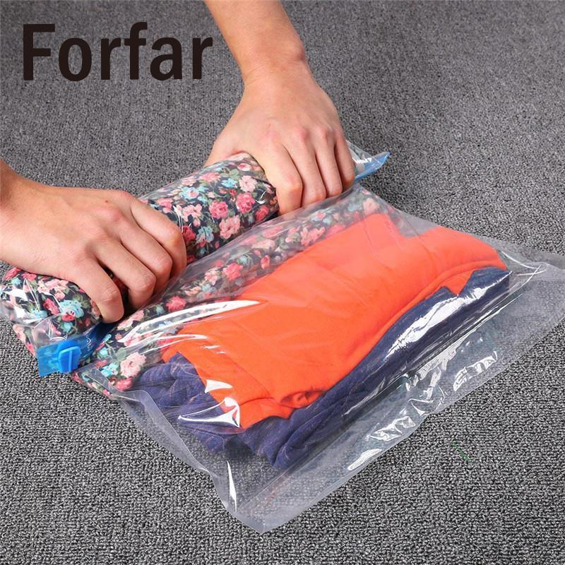 Use Without Air Pump 50 X 35Cm Design Space Saver Travel Compress Vacuum Roll-Up-Outdoor Shop-Bargain Bait Box