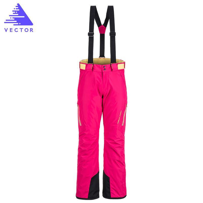 Vector Ice Ski Pants Women Waterproof Snow Pants Warm Snowboard Pants Skiing-Snow Pants-Bargain Bait Box-Black-S-Bargain Bait Box