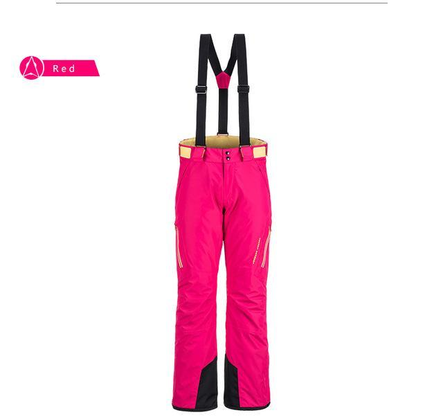 Vector Ice Ski Pants Women Waterproof Snow Pants Warm Snowboard Pants Skiing-Snow Pants-Bargain Bait Box-Red-S-Bargain Bait Box