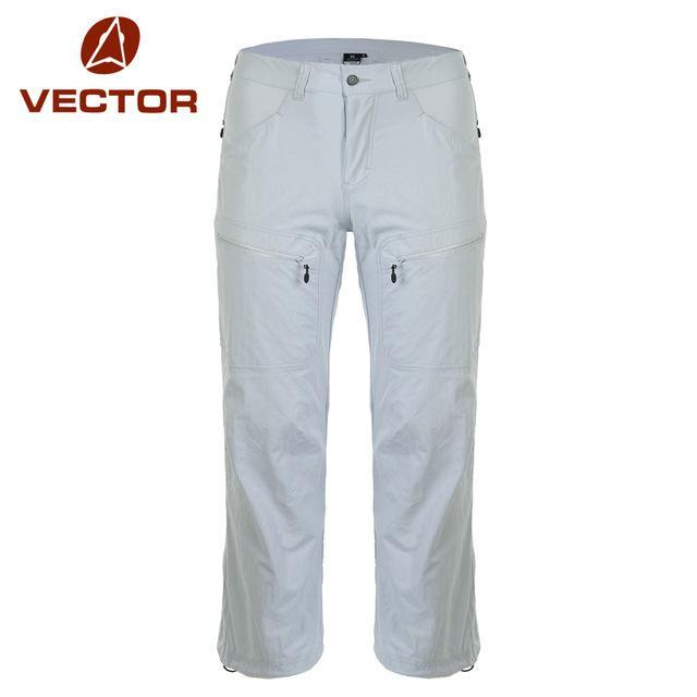 Vector Quick Dry Pants Men Camping Trousers Sport Running Climbing Trekking-Pants-Bargain Bait Box-grey-XL-Bargain Bait Box