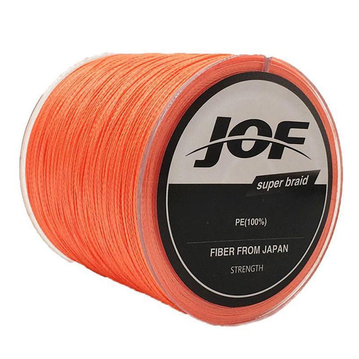 Visd Raad Extrem 300M 330Yards 4 Strands Multifilament Pe Braided Saltwater-Thanksgiving Family-JOF4P300White-0.6-Bargain Bait Box