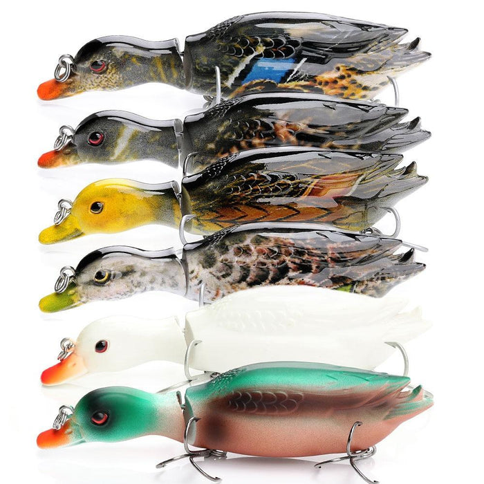 Vtavta 13Cm 34G Duck Swimbait Fishing Lure Multi Jointed Hard Bait Artificial-Fishing Lures-Trehook Store-COLOR-1-Bargain Bait Box