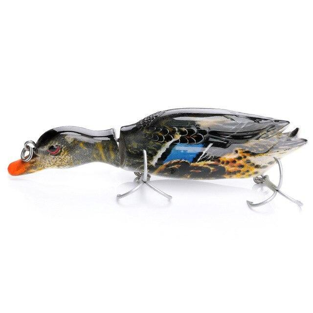 Vtavta 13Cm 34G Duck Swimbait Fishing Lure Multi Jointed Hard Bait Artificial-Fishing Lures-Trehook Store-COLOR-6-Bargain Bait Box