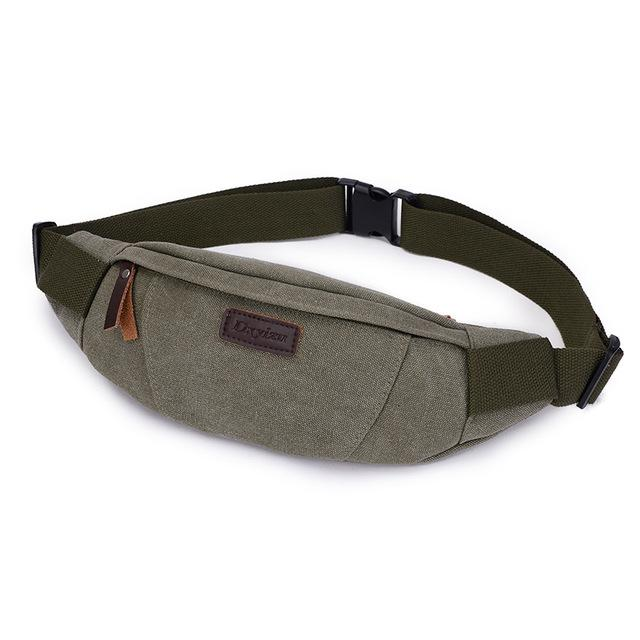 Waist Pack For Men Women Fanny Pack Bum Bag Hip Money Belt Ling Mobile Phone Bag-Bags-Bargain Bait Box-ARMY GREEN-Bargain Bait Box