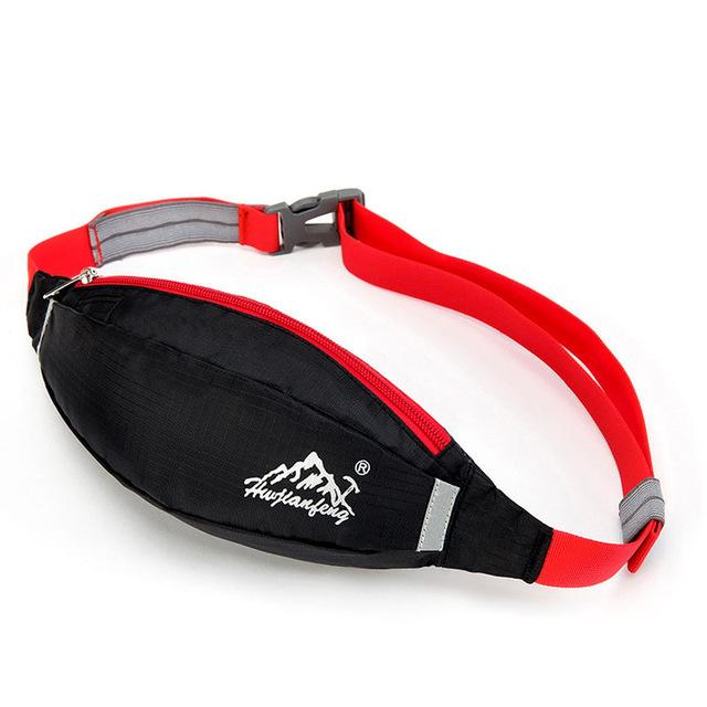 Waist Pack For Men Women Hip Money Belt Bum Bag Fanny Pack Ling Mobile Phone Bag-Bags-Bargain Bait Box-WB001-Bargain Bait Box