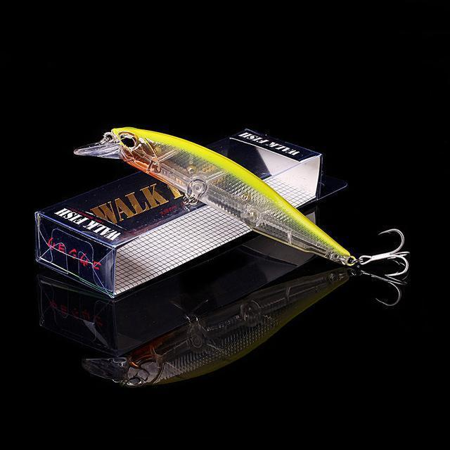 Walk Fish 1Pcs 11Cm 13.9G Minnow Fishing Lure Crankbait Artificiais Fishing-WALK FISH Store-B 2-Bargain Bait Box