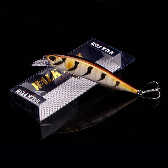 Walk Fish 1Pcs 11Cm 13.9G Minnow Fishing Lure Crankbait Artificiais Fishing-WALK FISH Store-I 9-Bargain Bait Box