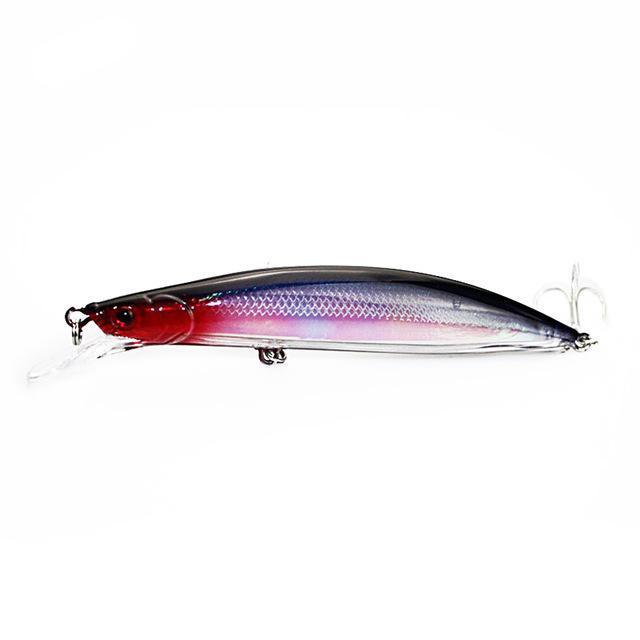 Walk Fish 1Pcs Floating Minnow Fishing Lure 14Cm 22G Laser Hard Artificial-Crankbaits-duo dian Store-A-Bargain Bait Box