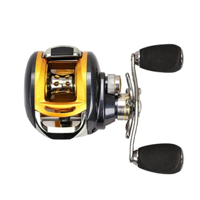 Walk Fish Baitcasting Fishing Reel All Metal 235G 12+1Bb 6.2:1-Baitcasting Reels-duo dian Store-Left-Bargain Bait Box