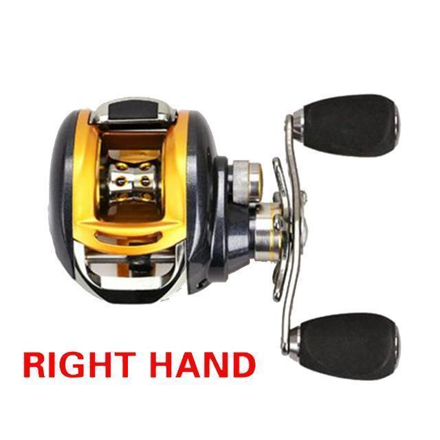 Walk Fish Baitcasting Fishing Reel All Metal 235G 12+1Bb 6.2:1-Baitcasting Reels-duo dian Store-Right-Bargain Bait Box