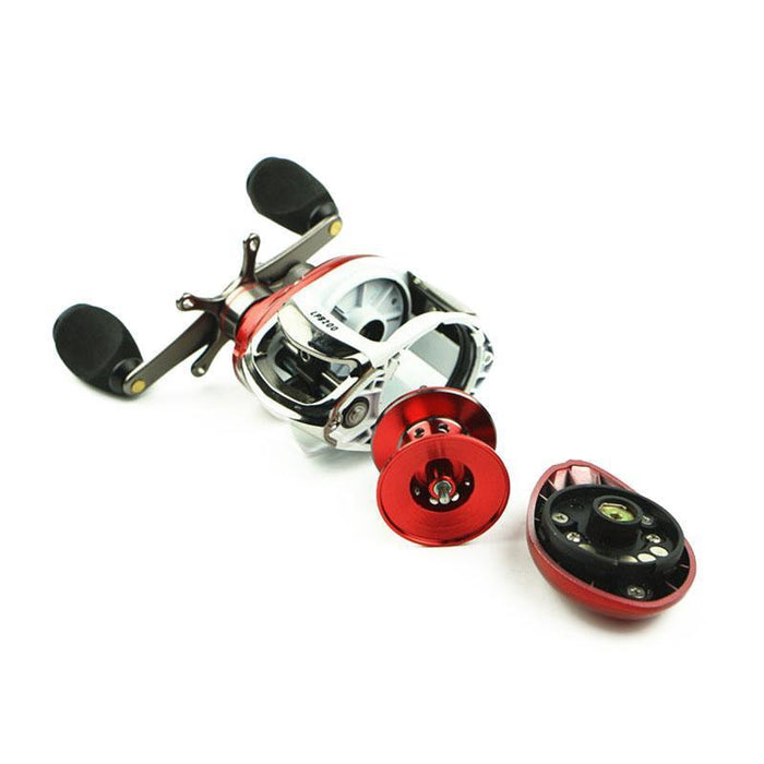 Walk Fish Baitcasting Reel 12+1Bb Fishing Reel Left/Right Hand All Metal-Baitcasting Reels-duo dian Store-Left-Bargain Bait Box