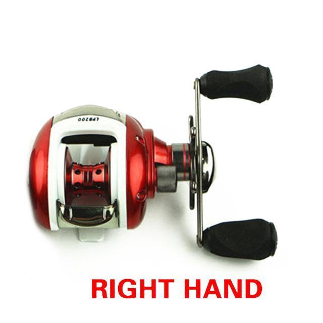 Walk Fish Baitcasting Reel 12+1Bb Fishing Reel Left/Right Hand All Metal-Baitcasting Reels-duo dian Store-Right-Bargain Bait Box