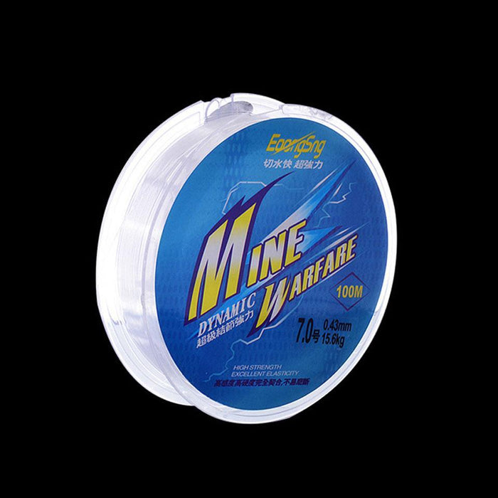 Walk Fish Brand 100M Strong Quality Nylon Fishing Line Monofilament 2Lb 4Lb-WALK FISH Store-0.4-Bargain Bait Box