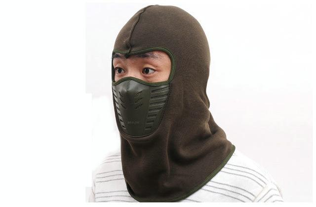 Warmer Face Mask Windproof Dust-Proof Fleece Bike Full Face Scarf Mask Neck-Masks-Bargain Bait Box-Coffee-Bargain Bait Box