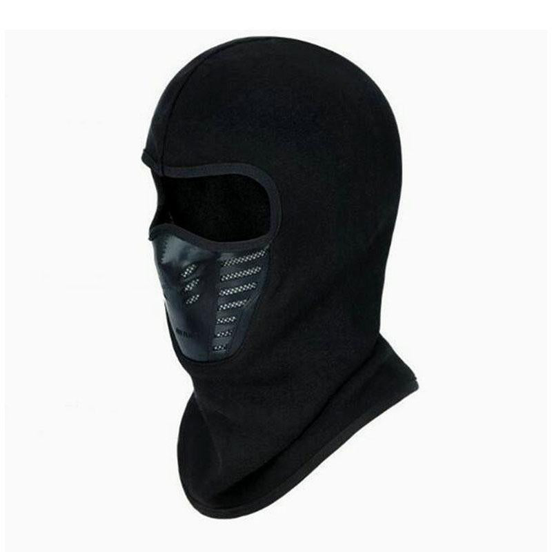 Warmer Face Mask Windproof Dust-Proof Fleece Bike Full Face Scarf Mask Neck-Masks-Bargain Bait Box-Pink-Bargain Bait Box