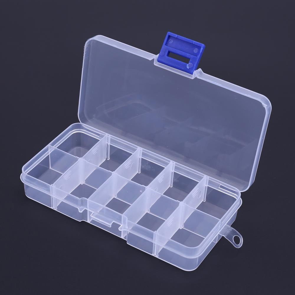 Waterproof 10 Compartments Outdoor Fishing Lure Hook Storage Box Case Portable-Sportsknowledge Store-Bargain Bait Box