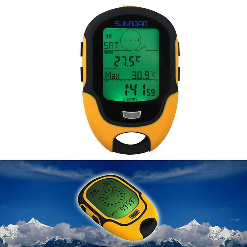 Waterproof Fr500 Multifunction Lcd Digital Altimeter Barometer Compass-Enjoying Exercise Store-Bargain Bait Box