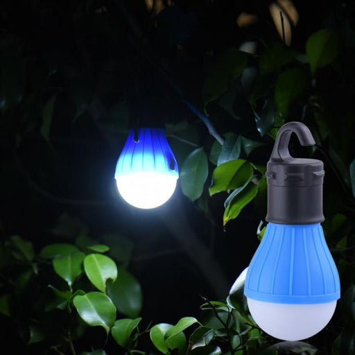 Waterproof Portable Flashlights Tent Lamp Led Bulb Emergency Night Light Camping-HMJ Outdoor Store-Red-Bargain Bait Box