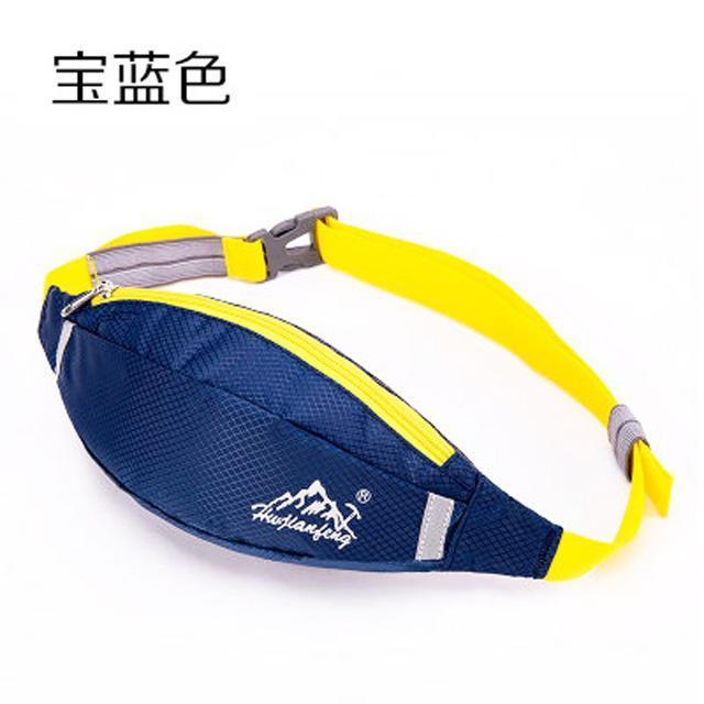 Waterproof Waist Pack For Men Women Fanny Pack Bum Bag Hip Money Belt Mobile-Bags-Happiness bag Store-royalblue-Bargain Bait Box