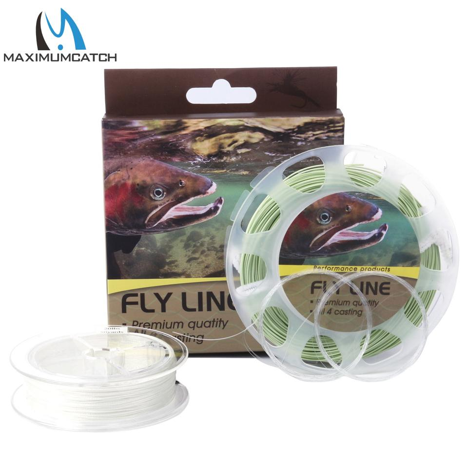 Wf2/3/4/5/6/7/8F Fly Line Combo Fly Fishing Floating Line & Backing & Leader-Fly Fishing Lines & Backing-Bargain Bait Box-2.0-Bargain Bait Box