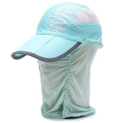 Whichinshower Wide Large Brim Sun Block Fishing Hat Face Neck Protection Sun Cap-Hats-Ymsaid Official Store-6-Bargain Bait Box