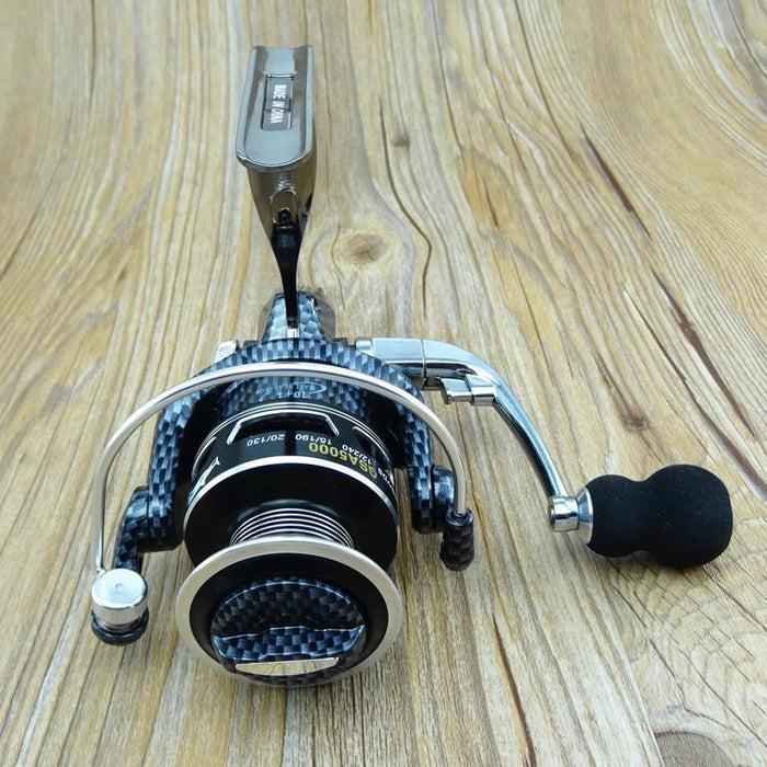 Wholesale Black Emperor Metal Fishing Tackle 4.7:1 11Bb Seamless Metal-Spinning Reels-Sequoia Outdoor Co., Ltd-2000 Series-Bargain Bait Box