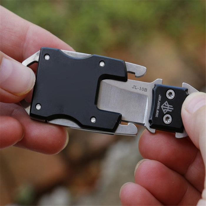 Wholesale Edc Outdoor Gadget Mini Key Dancer Knife Pocket Knife Sharp Small-Love home stores-Silver-Bargain Bait Box