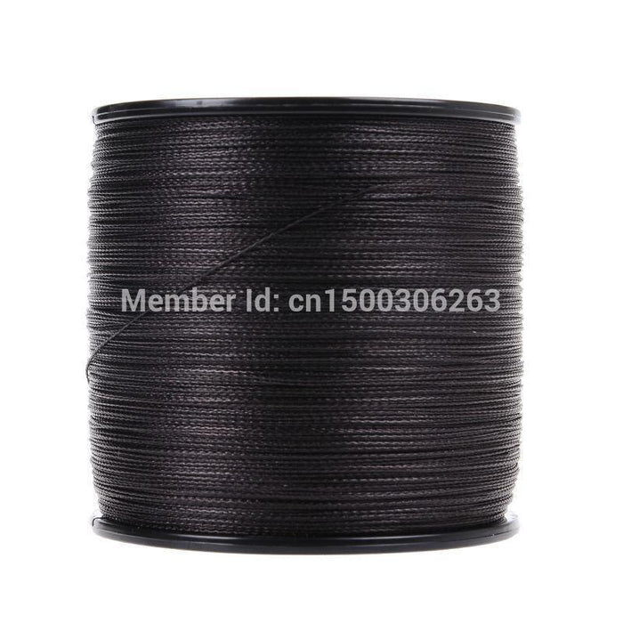 Wholesale Japan Multifilament Pe Braided Fishing Line 4Strands 500M Black-WuHe Pro Fishing tackle-0.4-Bargain Bait Box