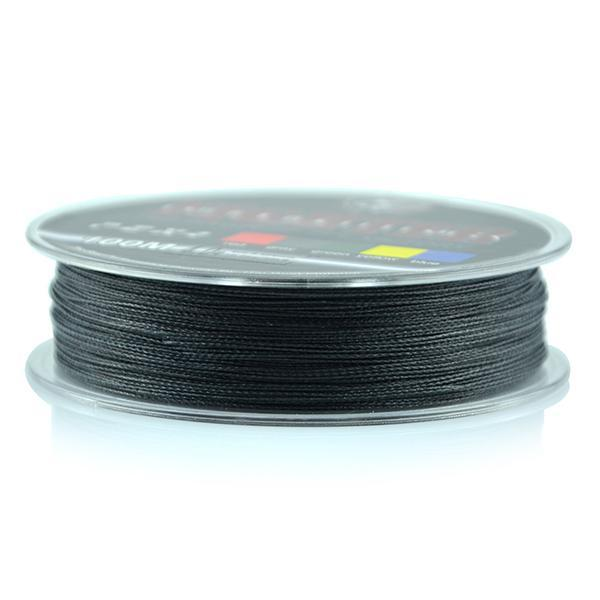 Wholesale Monofilament Braided Fishing Line 100M Floating Multicolor 8-60Lb High-Sequoia Outdoor (China) Co., Ltd-Black-0.4-Bargain Bait Box