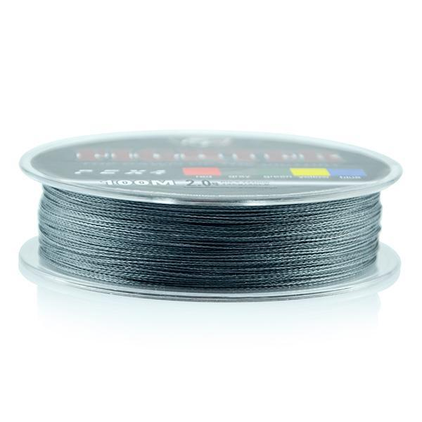 Wholesale Monofilament Braided Fishing Line 100M Floating Multicolor 8-60Lb High-Sequoia Outdoor (China) Co., Ltd-Dark Grey-0.4-Bargain Bait Box