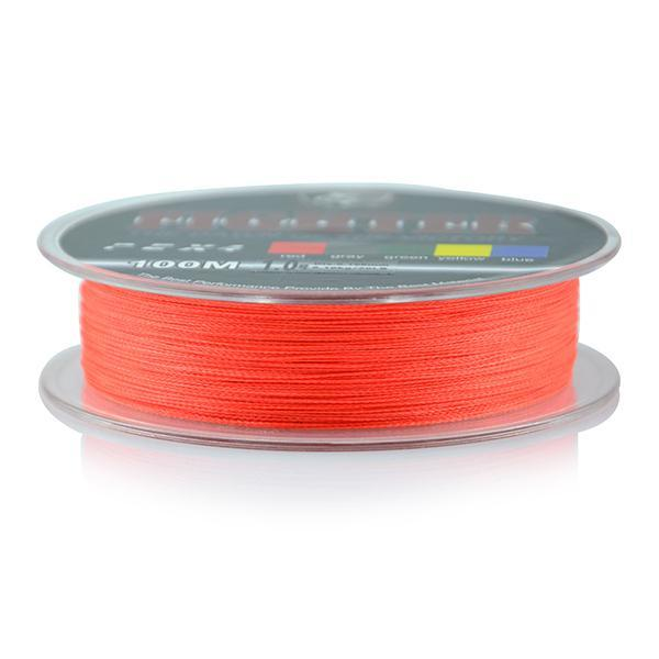 Wholesale Monofilament Braided Fishing Line 100M Floating Multicolor 8-60Lb High-Sequoia Outdoor (China) Co., Ltd-Red-0.4-Bargain Bait Box