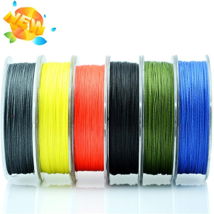 Wholesale Monofilament Braided Fishing Line 100M Floating Multicolor 8-60Lb High-Sequoia Outdoor (China) Co., Ltd-Yellow-0.4-Bargain Bait Box