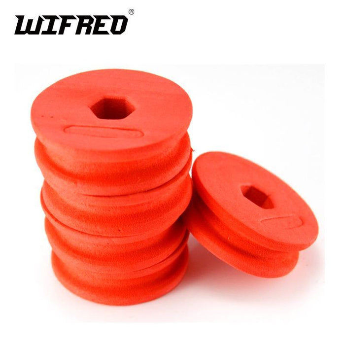 Wifreo 50 Pieces Small Round Soft Foam Fishing Main Line, Tippet String, Snelled-Wifreo store-Bargain Bait Box