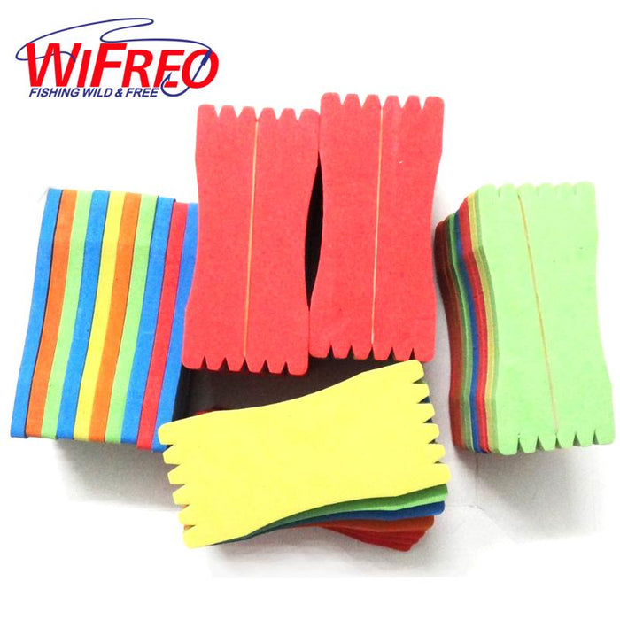 Wifreo 50Pcs/Lot Foam Fishing Line Leader Rig Fishing Line Holder Accessory-Wifreo store-Bargain Bait Box
