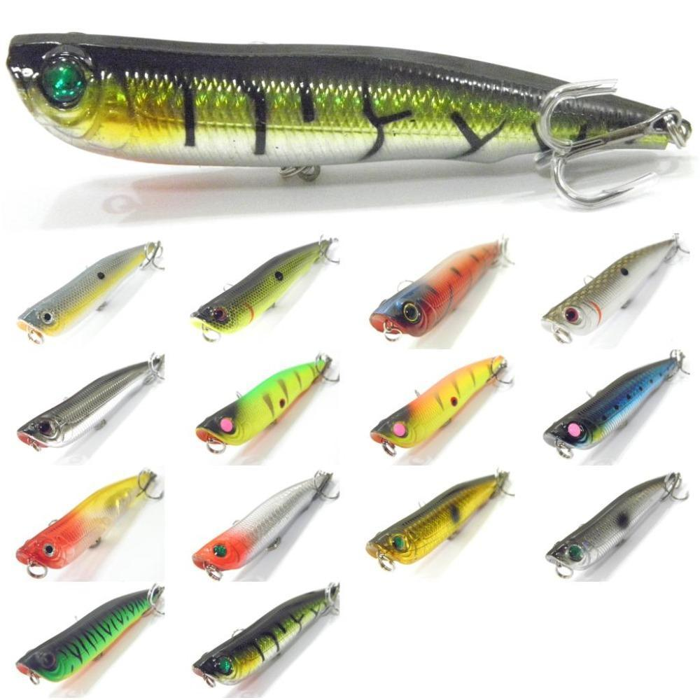 Wlure 10Cm 17G Long Casting Topwater Popper Walking Lure 2 #4 Treble Hooks-wLure Official Store-W622X1-Bargain Bait Box